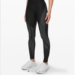 """Lululemon mapped out high rise 28"""" tight"""